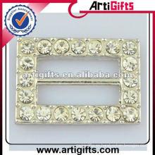 al por mayor hebilla de diamantes de imitación de metal