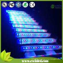 Arandela de pared DMX512 RGBW Light IP65 LED con 4in1