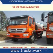 Caminhão tanque de sino 6x4 asfalto transporte caminhão 20cbm betume