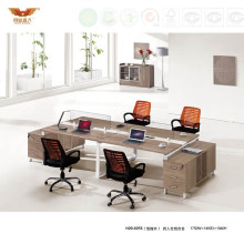 Employee Stright Office Workstation with Office Partition Design (H20-0255)