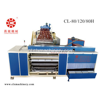 Hoge Capaciteit Machines Stretch Film Roll Making Machine