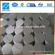 China hot or cold rolled aluminum circle/disc plates for cookware