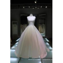 La mayoría de los últimos diseños populares del vestido de la boda los vestidos nupciales blancos de la novia del amor mueven hacia atrás