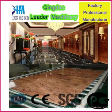 Produktionsmaschine für PVC-Kunstmarmorplatten