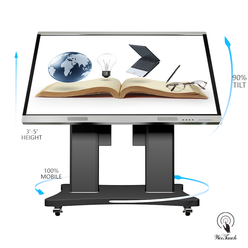 86 inches smart LED panel with Automatic stand