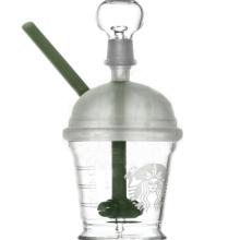 Mini Dabuccino Konzentrat Rig zum Rauchen mit klarer Farbe (ES-GB-074)
