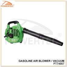 Aspirador de soplador de hoja de aire de gasolina Powertec (PT74007)