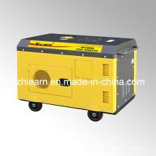 Générateur diesel à deux cylindres à refroidissement par air couleur jaune (DG15000SE)