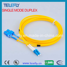FC-LC Duplex Fiber Optic Jumper, Jumper Cable