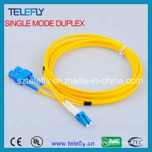 FC-LC дуплексная оптоволоконная перемычка, соединительный кабель