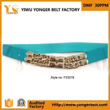 Cinturón de cintura nupcial tradicional del diseñador de la boda