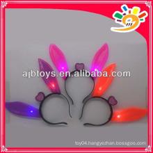 Flashing rabbit ears hairpin,ears headbands