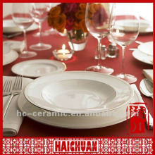 Dinnerware royal porcelain, fine royal porcelain