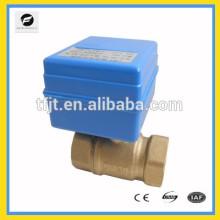 CR01 CWX-1.0 2NM mini válvula de bola eléctrica en lugar de válvula de solenoide 12 v para agua