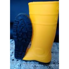 Мужские резиновые сапоги с желтыми Dfsb1601