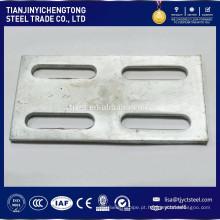 Alta precisão do CNC que faz à máquina a chapa metálica das peças que carimba as peças