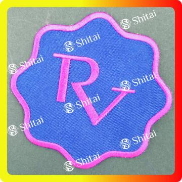 Patch per lettere RV con sigillo a caldo
