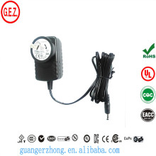 ROHS 9w 1.5a AC DC adapter with saa plug