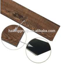 Tuile de plancher en vinyle de PVC de LVT de PVC de haute qualité fait sur commande 5mm de luxe fait sur commande