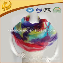 High Quality Wide And Long Printed Custom Design Beautiful Color Cashmere Pashmina Shawls