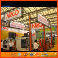 Vente directe d'usine de Shanghai, meilleur service, stand de commerce de haute qualité portable utilisé en aluminium treillis