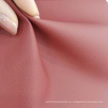 Cuero de PVC con tela de felpa francesa
