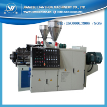 Latest High Quality High Output Low Cost 65/132 Conical Twin Screw Plastic Extruder