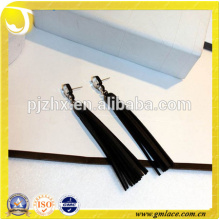 China Supplier Wedding Dressing Leather Costumes Tassel Earring