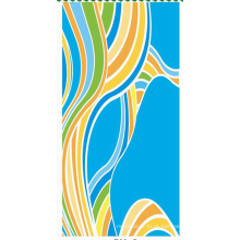 Toalha de limpeza de microfibra colorida de alta qualidade (BC-MT1018)