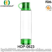 500ml Green Portable BPA Free Tritan Plastic Water Bottle (HDP-0623)