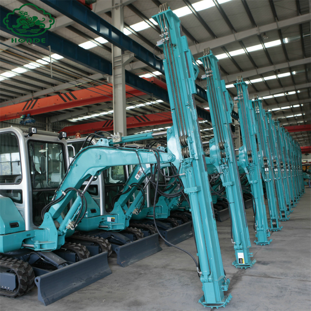 ground screw machine