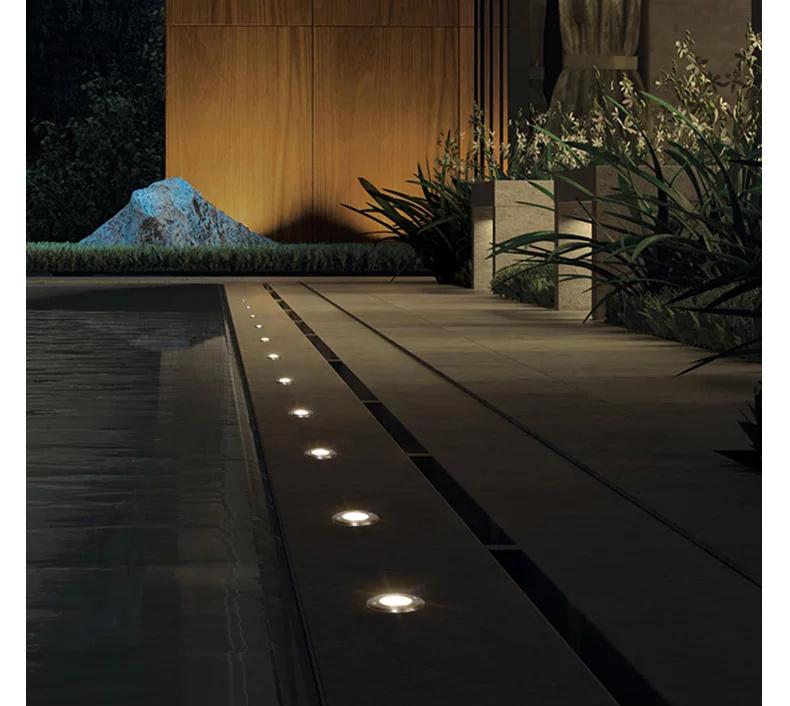 LED inground light