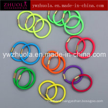 Colorful Metal Free Rubber Hair Band