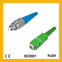 Hochwertiger und kompetenter Simplex Single Mode 0,9mm Sc Fiber Optical Connector