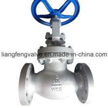 Válvula del globo del vástago de levantamiento de 300 libras API Extremo de la regla con acero inoxidable RF