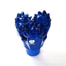 """10 1/2 """""""" 12 1/4 """""""" 15 1/2 """""""" api 114-117 nouveau puits d'eau de forage en acier trépan à trois cônes"""