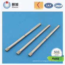 Eje certificado por encargo de la precisión 6 de China Supplier ISO 9001