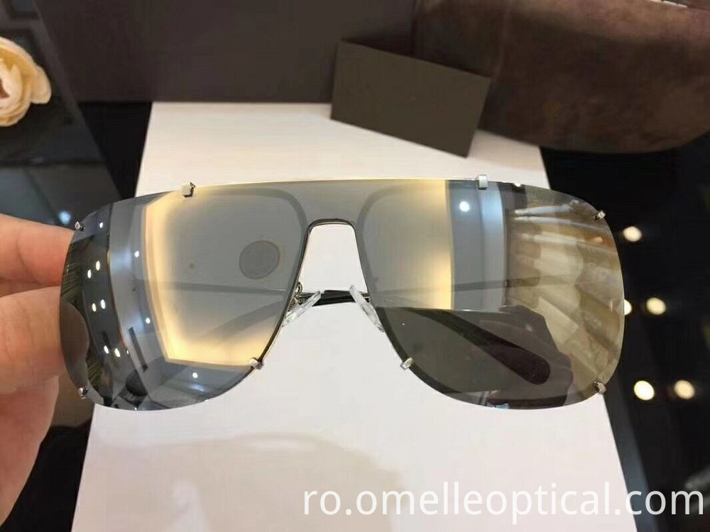 Goggle Type Sunglasses