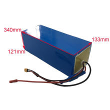 Big capacity 72v 26.1ah lithium battery for ebike bicycle motorcycle 3000w 5000W with 5A charger