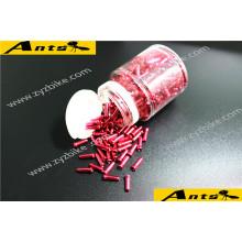 ANTS Tuyau d'extrémité de ligne de fil de câblage Ligne de changement de ligne de freinage accessoires en aluminium colorés