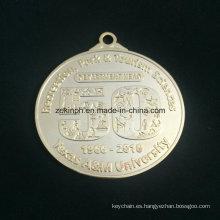 Encargo de Znic aleación medalla de oro hermosa medalla medalla de moderno