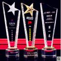 3D gravado bola de cristal Footall Champions Trophy Awards