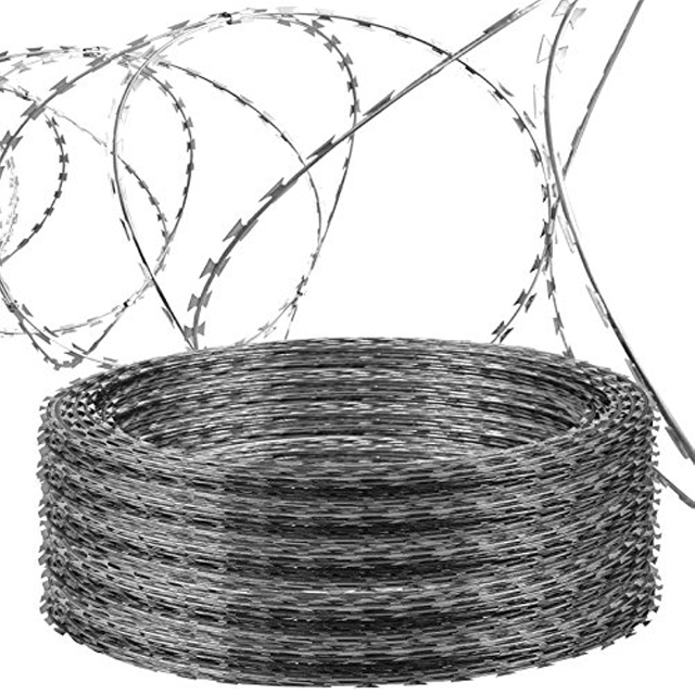 low price concertina razor barbed wire Barbed wire BTO-22 CBT-65