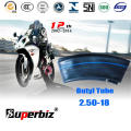 ISO Standard moto air butylique (2,50-18)