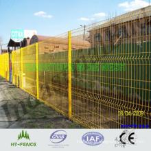 Painel de solda revestido de PVC Fence / PVC revestido de malha de arame esgrima