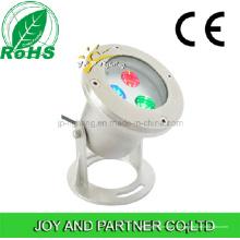 9W RGB светодиодный подводный прожектор с кронштейном из нержавеющей стали (JP90034)