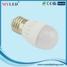 2700-6500k 300degree 5w ampoule led E27 led pour logement et exposition
