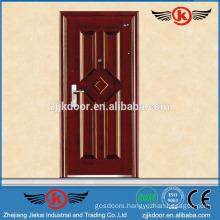 JK-S9228 modern design metal entry door with steel door handle