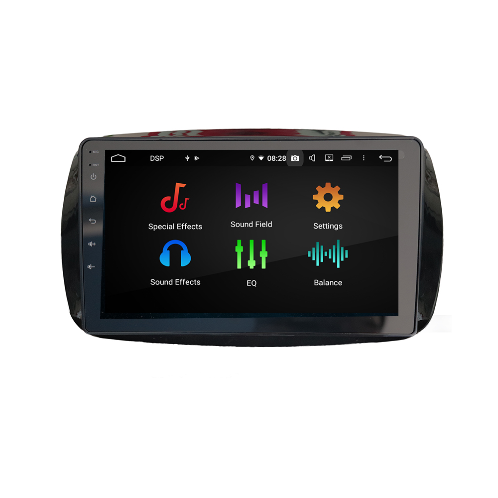 New Android System For Mercedes Benz Smart