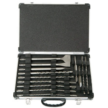 Technical 17pcs Concrete Drilling SDS Drill Bit Set